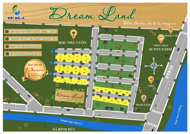 Dream Land Bến Lức