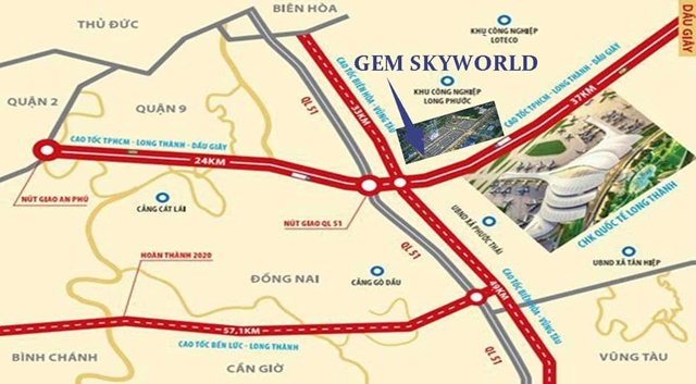 dự án gem skyworld